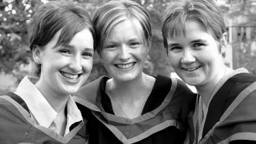 WATCH: From the archives . . . Ulster University Magee Campus Gradations (2001)