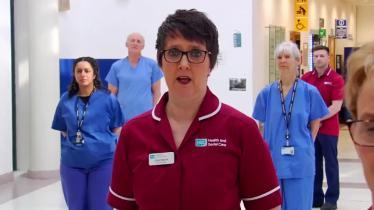 Belfast Respiratory Team Coronavirus Video