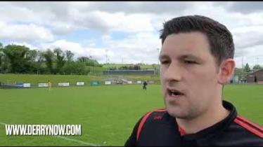 WATCH: Derry joint manager Cormac Donnelly's reaction to victory over Donegal
