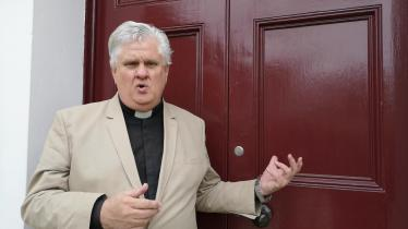 WATCH: Parish Rector reacts to St Lurach's vandalism
