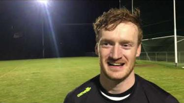 WATCH: Desertmartin defender Martin Breen's reaction to qualifying for the Derry JFC Final