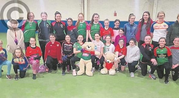 Doire Trasna CLG bear raffle to raise funds for coaching