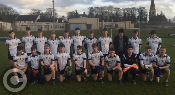 St Patrick's Maghera finish strong against Holy Trinity in MacRory Cup opener