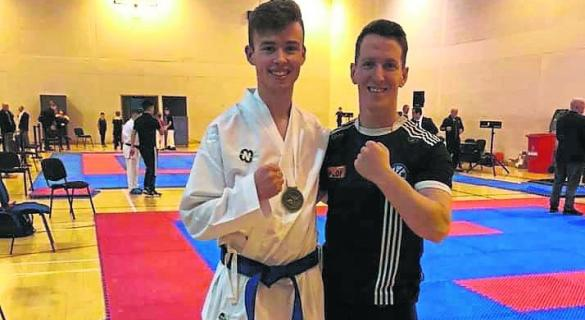 A first national karate title for Claudy