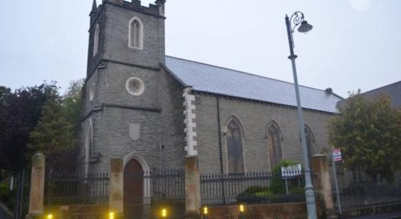 Two men who broke into and defacated in Derry Church jailed