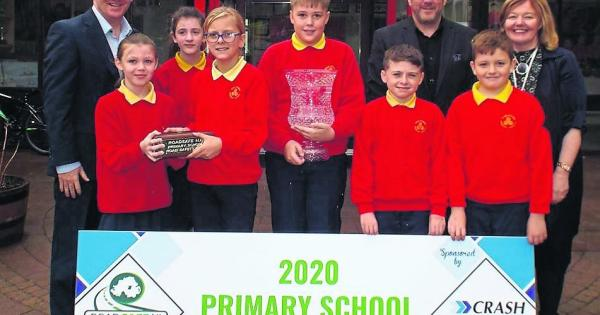 Steelstown all set to defend Primary School Road Safety Quiz title - Derry Now