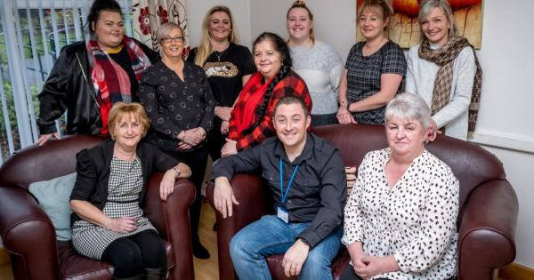 Staff at a Derry care home who gave a terminally-ill resident one last Christmas have won a special award for their kindness