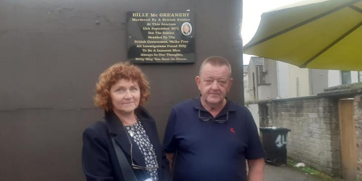 Emotional scenes as Derry man shot dead by British soldier 50 years ago remembered