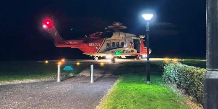 Casualty airlifted to Altnagelvin Hospital following jet ski incident on River Foyle