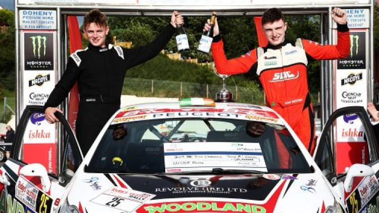 Josh McErlean shortlisted for Billy Coleman Young Driver of the Year award