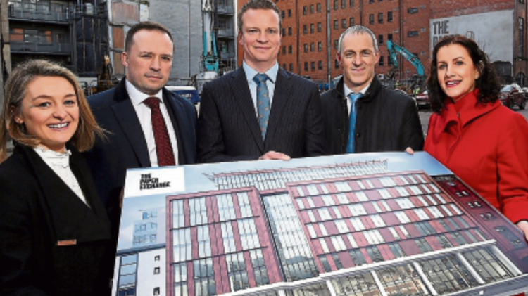 Draperstown construction company land multi-million office build contract