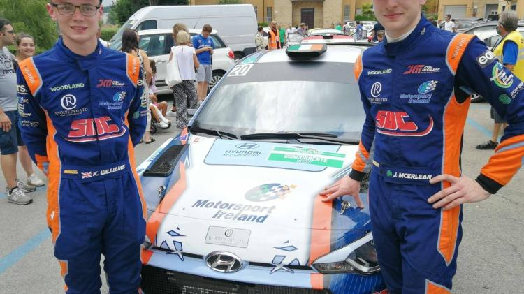 Josh McErlean 'delighted' after completing Rally di Alba