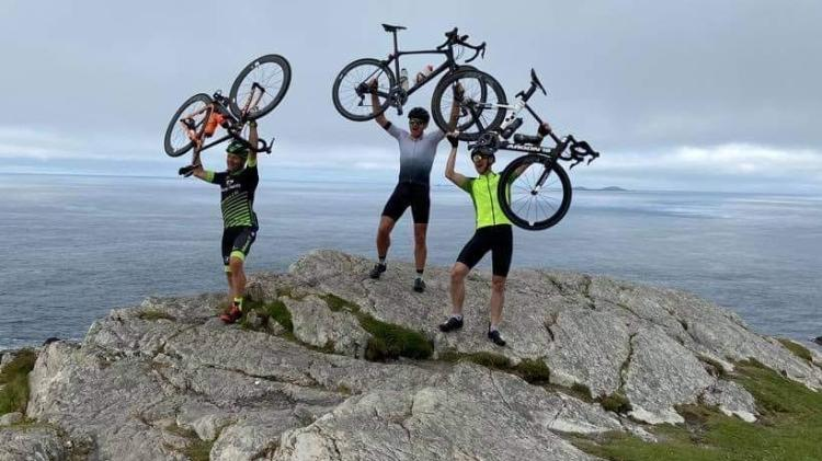 Derry man completes Mizen to Malin Head cycle in just two days
