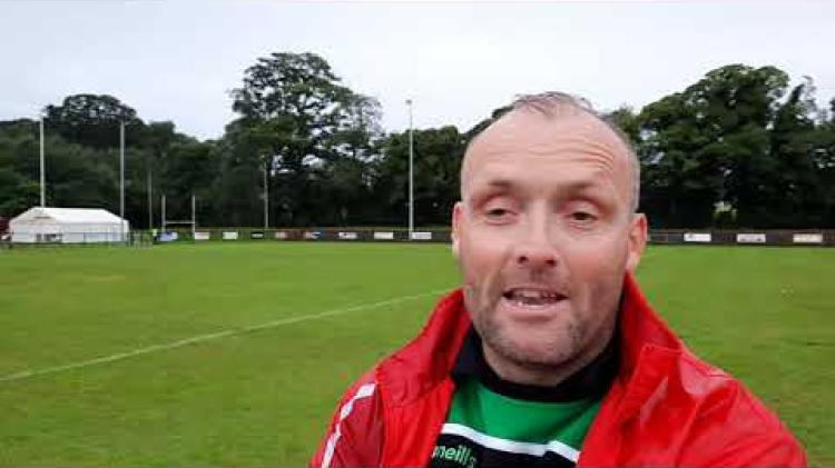 WATCH: Loup manager Paddy Bradley's reaction to their draw with Bellaghy