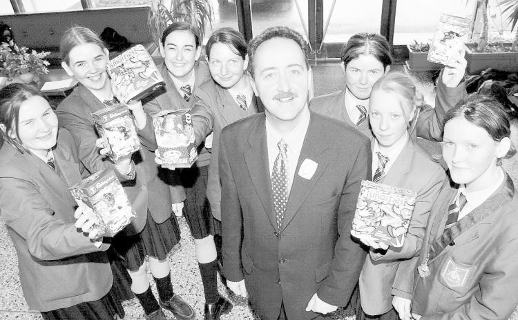 Around the Schools: Take a walk down memory lane from the 2001 Archives
