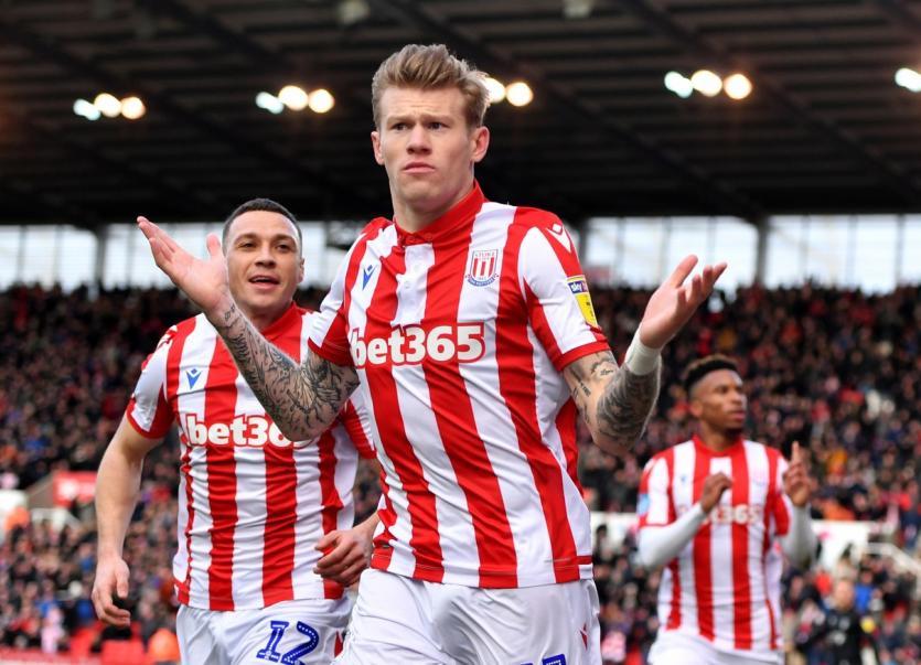 Stoke suspend James McClean for alleged Covid breach