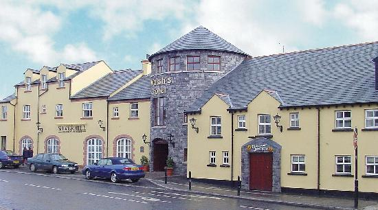 Walsh's in Maghera, where love blossomed for one young couple amid the skirmishes.